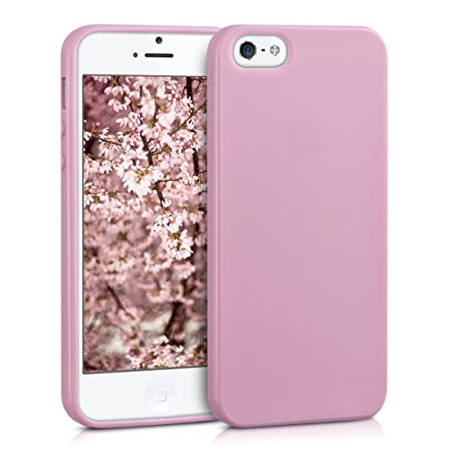 kwmobile-chic-tpu-silicone-case-per-apple-iphone-se-5-5s-in-rosa-antico-opaco