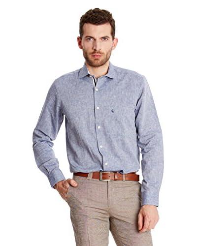 Macson Camisa Hombre Azul