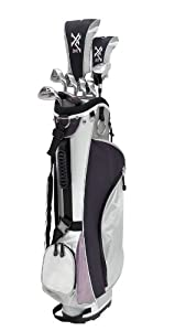 Knight Ladies XV II Complete Golf Set (Right Hand, Ladies Flex, Driver, 3 Fairway... by Knight