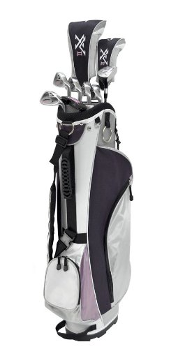 Knight-Womens-XV-II-Complete-Golf-Set-Right-Hand-Ladies-Flex-Driver-3-Fairway-Wood-45-Hybrid-6-PW-Putter-Bag