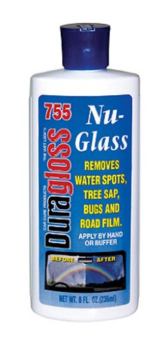 Duragloss 755 Automotive Glass Water Spot Remover - 8 oz. (Car Glass Water compare prices)