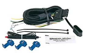 Hopkins 46105 4-Wire Flat Universal Wiring Kit