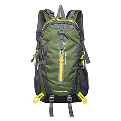 Pioneer TEC 40L Casual Lightweight Water-resistant Hiking Backpack Daypack for Outdoor Hiking Camping Sports Travel Climbing
