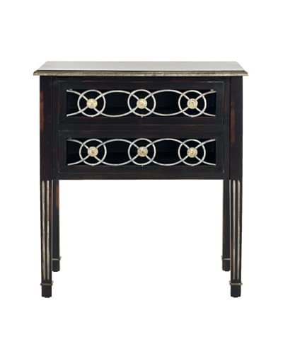 Safavieh Patricia Side Table, Dark Brown