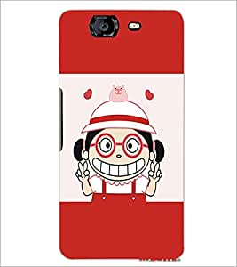 MICROMAX A350 CANVAS KNIGHT BABY GIRL Designer Back Cover Case By PRINTSWAG