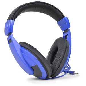 Vibe Sound Vs-750-Dj Noise Reduction Stereo Headphones (Blue)