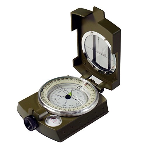 SE  Military Lensatic Sighting Compass