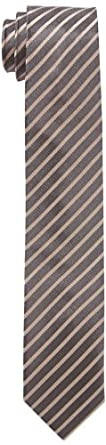 Venti Herren Krawatte 001120, Gestreift, Gr. One size, Beige (beige 600)