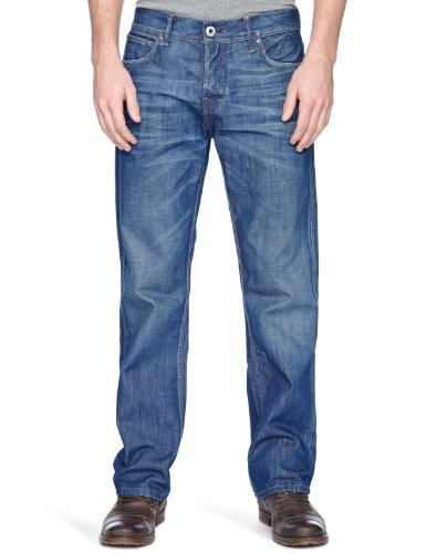 Firetrap Rom-G2 Straight Men's Jeans Kdx Wash