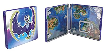Pokemon Moon Steel Book (Nintendo 3DS)