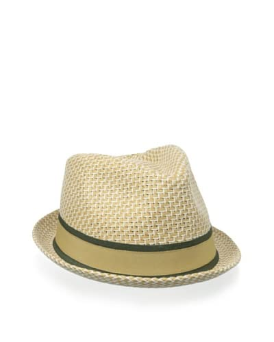Block Headwear Men's Straw Weave Rocky Fedora