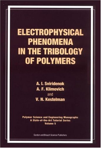 Electrophysical Phenomena and the Tribology of Polymers