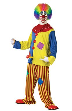 Horny the Clown Adult Mens Halloween Costume