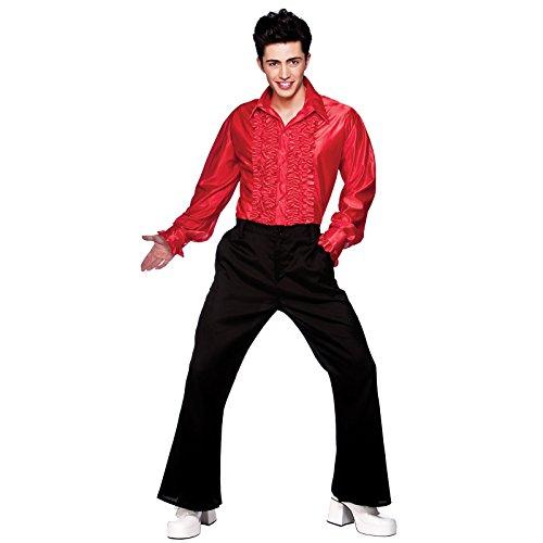 red-disco-ruffle-shirts