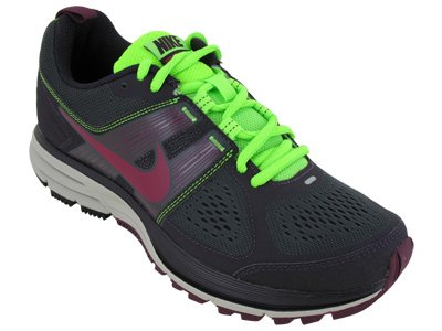 Nike Women's NIKE AIR PEGASUS+ 29 TRAIL RUNNING SHOES 9 (ANTHRCT/FRBRRY/BRDX/ELCTRC GRN)