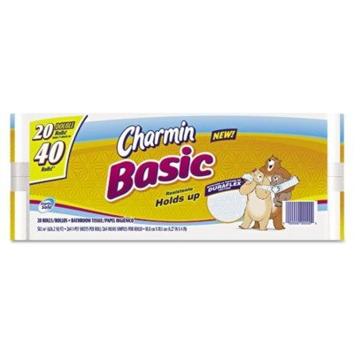 basic-big-roll-one-ply-white-264-sheets-roll-24-rolls-carton-by-charmin