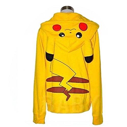 Cosplaymart Pocket Monster Pikachu Sweatshirt/ Hoodie /Costumes (M)