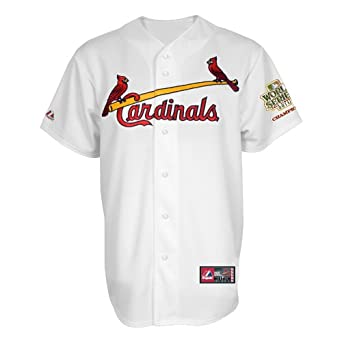 MLB St. Louis Cardinals Matt Holliday 2011 World Series Champions Patch Name &... by Majestic