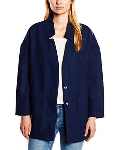 Cortefiel Abrigo Azul