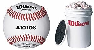 Buy Wilson 1010s Blem Baseballs With Bucket (2 dozen) by Wilson 1010s