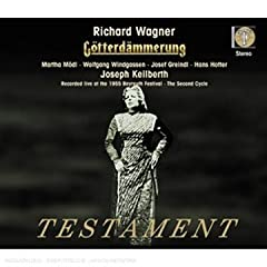 Richard Wagner: Gterd舂merung (Bayreuth 1955)