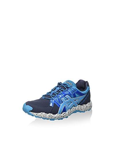 Asics Zapatillas de Running Gel-Fujitrainer 2 Azul Marino / Aguamarina / Plata