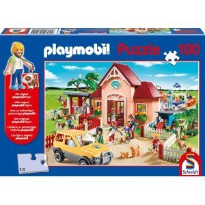 Playmobil – Puzzle. PS56091. At the Vet + Playmobil. 100 pcs online kaufen