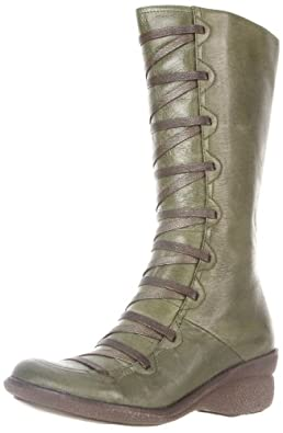 Miz Mooz Women's Otis Boot,Khaki,38 EU/8 M US