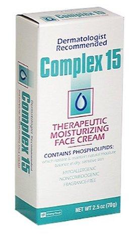 Complex 15 Therapeutic Moisturizing Face Cream - 2.5 oz (Pack of 3)