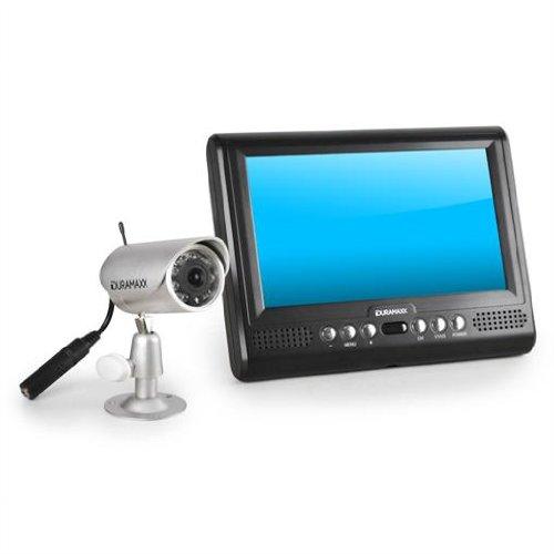 duramaxx funk nachtsicht kamera berwachungsset ir 2 4ghz. Black Bedroom Furniture Sets. Home Design Ideas