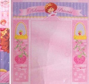 Strawberry Shortcake Berry Princess 3-piece Door Decoration Kit