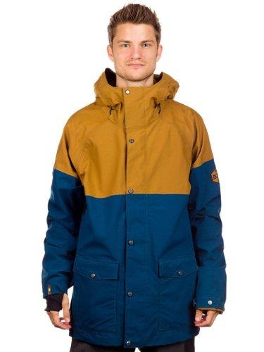 Bonfire Tanner Snowboard Jacket Midnight/Driftwood Mens<br />