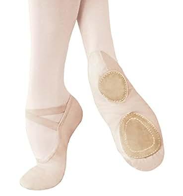 quot performance series quot split sole canvas ballet