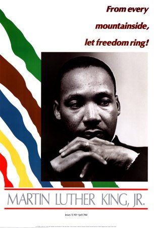 Martin Luther King Jr World Culture Poster Print 24x36B0000VI718