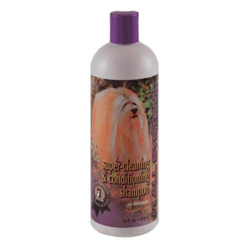 #1 All Systems Super Cleaning And Conditioning Pet Shampoo, 16-Ounce front-607381