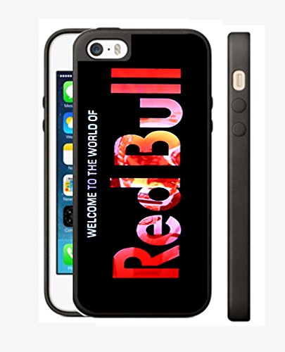 Case Cover Silicone Iphone 5 5s RB1 Protection Design Red Bull energy Drink