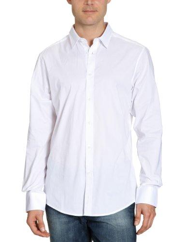 Ben Sherman MA00001 Mens Casual Shirt White(01) Medium