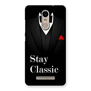 Radiant Stay Classic Back Case Cover for Xiaomi Redmi Note 3