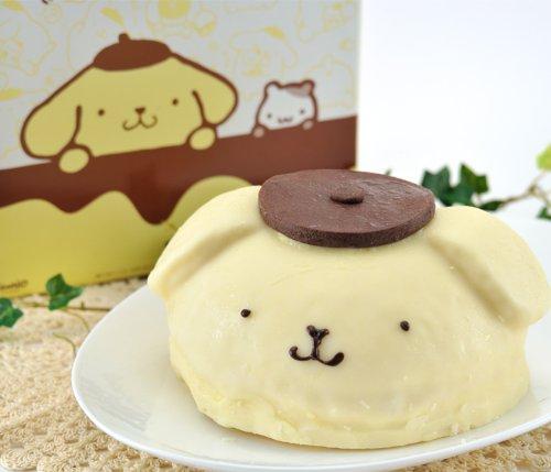 ポムポムプリンドームケーキ