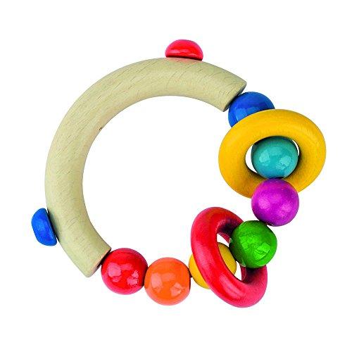 Heimess 734300 - Greifling Halbrund mit Perlen und 2 Ringen