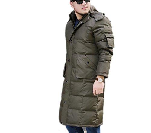 XYXY Premium inverno grandi dimensioni-uomo addensare piumino . xxxxxxl . army green