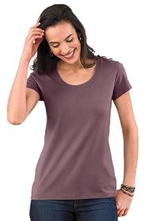 Fair Indigo Scoop Neck Organic Fair Trade T-shirt