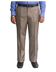 Kinger Men's Flat Front Trousers