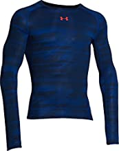 Under Armour 1258896 Hg Printed T-Shirt manches longues de compression Homme Academy FR : L (Taille Fabricant : LG)