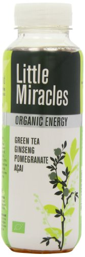 Powershot Little Miracles Organic Green Tea Energy Drink 330 ml (Pack of 6)