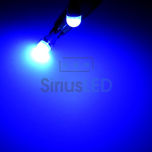 Sirius LED T10 194 168 2825 LED Accent Map Dome Interior Light Bulb Multiple Color