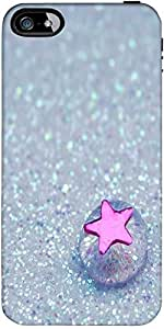 Snoogg Starfish jelly Hard Back Case Cover Shield ForApple Iphone 5 / 5s