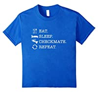 Chess T Shirt: The Official Eat Sleep Checkmate Repeat Shirt