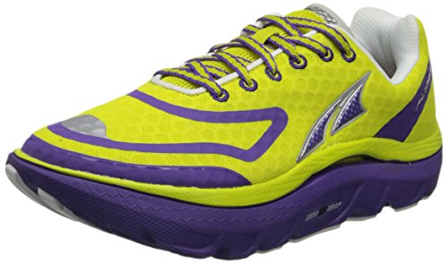 Altra Women's Paradigm Max Cushion Running Shoe,Sulphur/Purple,8.5 M US