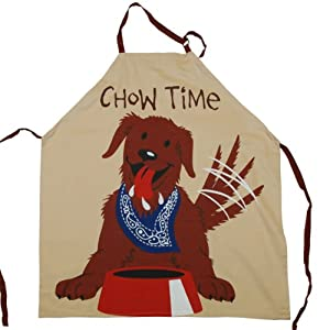 Chow Time Grilling/Kitchen Apron - Adult One Size by Lazy One
